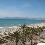 Blick vom Balkon Richtung Palma