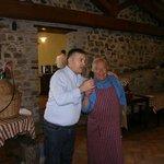 Il Presidente de Le Centopelli con Giuliano Tofanelli (Ventura)