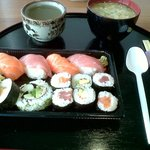 set sushi lunch