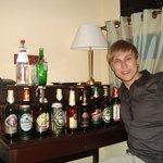 Запасы пива уменьшились )