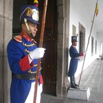 Guards at the Presidential Palace