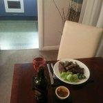 Dinner at room