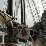 Maritime Museum Boat at Barcelona Embankment