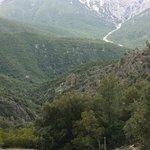 mountant view close to Cala Ganone