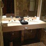 Bathroom and available toiletries