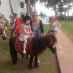 Pony ride at apartments
