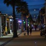 Marseillan plage by night