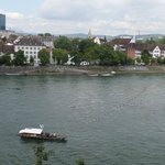 View of Basel Ferry from Munster area
