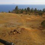 scorcio panoramica da monte Calamita .....