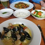 Lovely seafood at the HS1