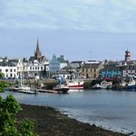 Stornoway from Lewis Castle Grounds