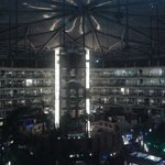 Amazing view of inside dome at Sahara star