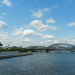 Bridge, Dom and Rhine