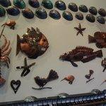 art in a  shop