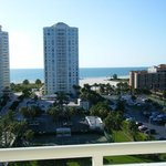 view towards beach from front door