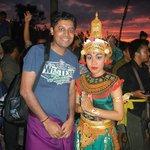 Kecak Dance organised by Hyatt Bali