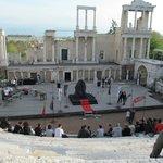 HBO promo in Roman theater Plovdiv