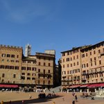 The main piazza in Siena