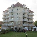 Hotel Costa Carilo - L'hotel visto dal lato posteriore