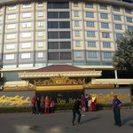 Front view of hotel...