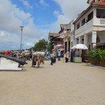 Lamu town seafront