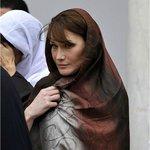 Carla BRUNI à la Mosque Zitouna