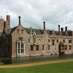 Oxburgh Hall in the afternoon sun