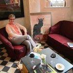 Cafe Birbant Wine Bar in basement