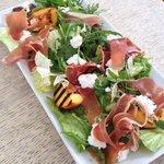 Parma Ham, Ricotta and Nectarine Salad