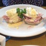 Yummy eggs Benedict