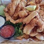 Grouper & Homemade Chips!