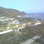 Ariel view of resort from 9th floor