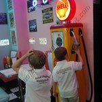 Little rock diner incuriosisce pure i bambini