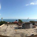 Vista sul mare dalla terrazza