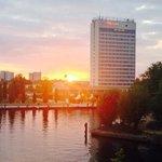 Potsdam sunset