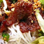 Grilled Beed Noodle Salad