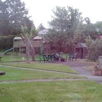 Garden play area for the kids