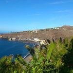 View of Playa Santoago from Hotel Gardens