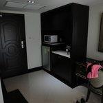 Кухонная зона в номере
