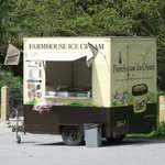 Brimham Rocks car park/ice cream stall.