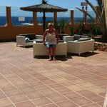 Patio area and view........