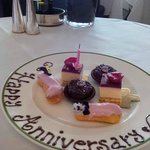 Happy Anniversary Plate of goodies - thank you