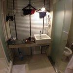 bathroom, washbasin, toilet