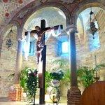 Underneath church