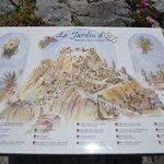 mappa del giardino