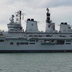 HMS Illustrious, Portsmouth, Tue. 27th May 2014