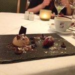 sehr kreatives Dessert!!