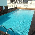 Rooftop plunge pool