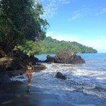Mango Moon's Private Beach