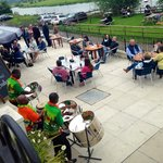 Fantastic day and steel drum band